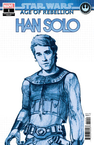 STAR WARS AOR HAN SOLO #1 B CONCEPT Variant (05/01/2019) MARVEL