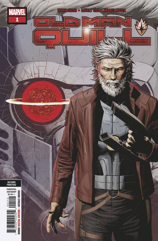 OLD MAN QUILL #1 (OF 12) Marvel 2nd Print Robert Gill Variant (03/13/2019)