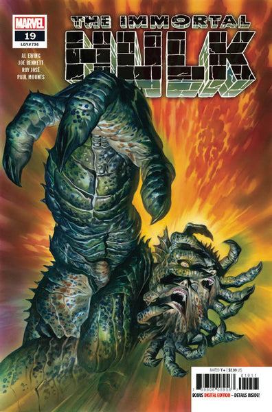Immortal Hulk #19 A Alex Ross Al Ewing (06/12/2019) Marvel