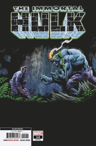 IMMORTAL HULK #14 2nd Print Kyle Hotz Variant (04/03/2019) MARVEL