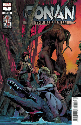 CONAN THE BARBARIAN #7 Carlos PACHECO MARVELS 25TH ANNIVERSARY Variant (06/26/2019) MARVEL