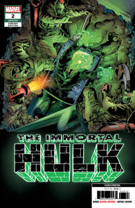 IMMORTAL HULK #2 Marvel 4th Print Joe Bennett Variant (04/10/2019)