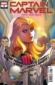 CAPTAIN MARVEL #8 A Amanda Conner (07/17/2019) MARVEL