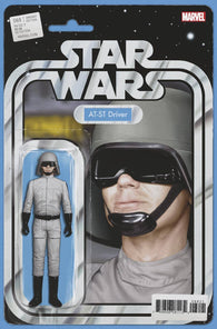 STAR WARS #68 C John Tyler CHRISTOPHER ACTION FIGURE Variant (07/10/2019) MARVEL