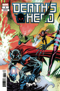 DEATHS HEAD #1 B (OF 4) John MCCREA CONNECTING Variant (07/31/2019) MARVEL