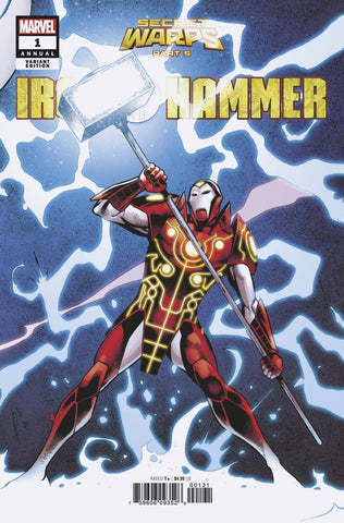 SECRET WARPS IRON HAMMER ANNUAL #1 B Carlos PACHECO CONNECTING Variant Al Ewing (07/31/2019) MARVEL
