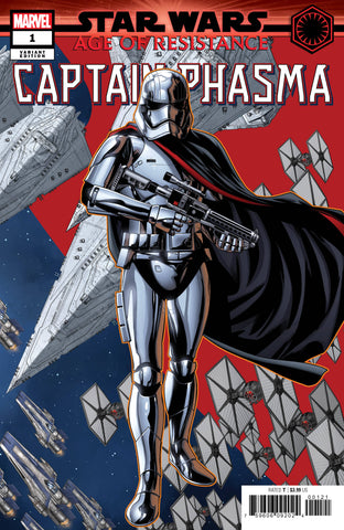 STAR WARS AOR CAPTAIN PHASMA #1 B Mike MCKONE PUZZLE PC Variant (07/10/2019) MARVEL