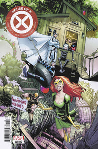 HOUSE OF X #1 G (OF 6) Humberto Ramos PARTY Variant (07/24/2019) MARVEL