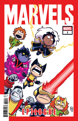 MARVELS EPILOGUE #1 C Skottie YOUNG Variant Kurt Busiek (07/24/2019) MARVEL