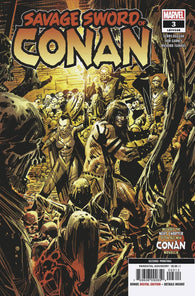 SAVAGE SWORD OF CONAN #3 2nd Print Ron Garney Variant (05/15/2019) MARVEL