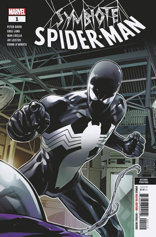 SYMBIOTE SPIDER-MAN #1 2nd Print Greg Land Variant  (05/15/2019) MARVEL