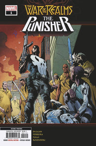 WAR OF REALMS PUNISHER #1 A (OF 3) 2nd Print Marcelo Ferreira Variant (05/22/2019) MARVEL