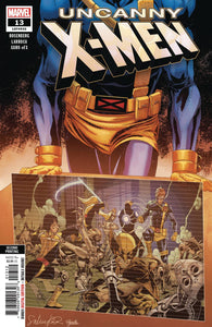 UNCANNY X-MEN #13 2nd Print Salvador Larroca Variant (05/29/2019) MARVEL