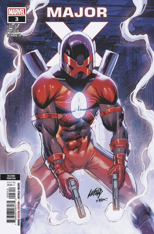 MAJOR X #3 (OF 6) 2nd Print Rob Liefeld Variant (05/29/2019) MARVEL