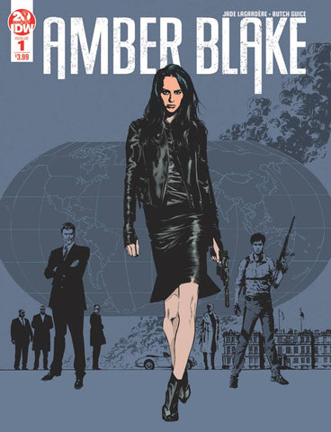 AMBER BLAKE #1 IDW 2nd Print Butch Guice Variant (06/12/2019)