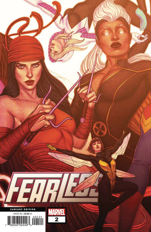 FEARLESS #2 (OF 3) B Jenny FRISON CONNECTING Variant (08/21/2019) MARVEL
