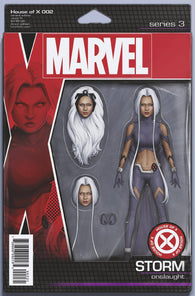 HOUSE OF X #2 (OF 6) F John Tyler CHRISTOPHER ACTION FIGURE Variant (08/07/2019) MARVEL
