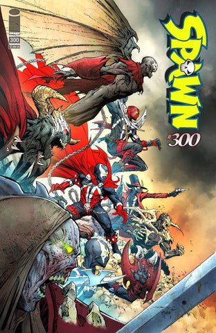 SPAWN #300 H Jerome OPENA Variant (09/04/2019) IMAGE