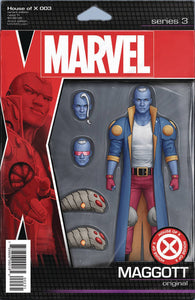 HOUSE OF X #3 (OF 6) F John Tyler CHRISTOPHER ACTION FIGURE Variant (08/28/2019) MARVEL