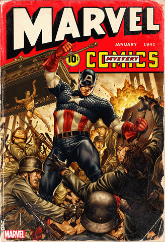 MARVEL Comics #1000 D Mark BROOKS 40S Variant (08/28/2019) MARVEL