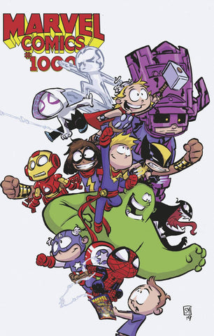 MARVEL Comics #1000 K Skottie YOUNG Variant (08/28/2019) MARVEL