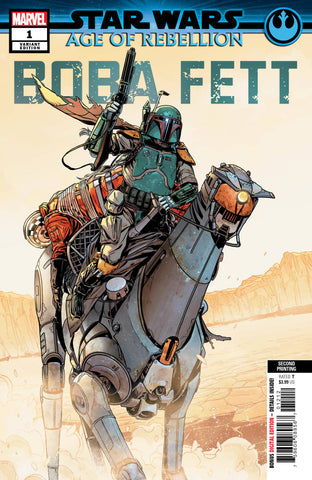 STAR WARS AOR BOBA FETT #1 2nd Print Variant (06/12/2019) MARVEL