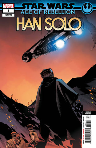 STAR WARS AOR HAN SOLO #1 2nd Print Variant (06/12/2019) MARVEL
