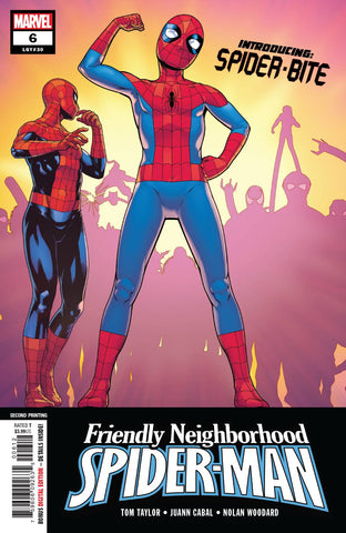 FRIENDLY NEIGHBORHOOD SPIDER-MAN #6 2nd Print Juan Cabal Variant (06/12/2019) MARVEL