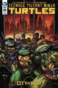 TMNT ONGOING #98 B Kevin EASTMAN Variant Teenage Mutant Ninja Turtles (09/25/2019) IDW