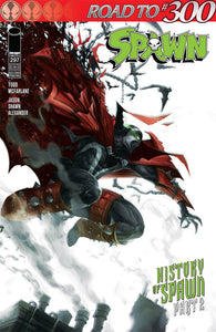 SPAWN #297 2nd Print Francesco MATTINA Variant (06/26/2019) IMAGE