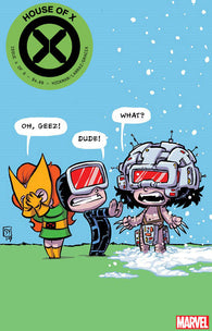 HOUSE OF X #4 (OF 6) E Skottie YOUNG Variant (09/04/2019) MARVEL