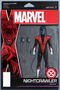 HOUSE OF X #5 (OF 6) C John Tyler CHRISTOPHER ACTION FIGURE Variant (09/18/2019) MARVEL