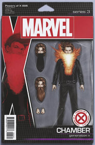 POWERS OF X #5 (OF 6) C John Tyler CHRISTOPHER ACTION FIGURE Variant (09/25/2019) MARVEL