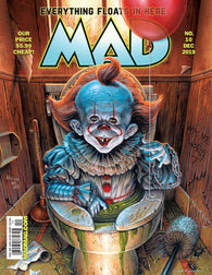 MAD MAGAZINE #10 Final Issue Stephen King It Clown Pennywise (10/16/2019) DC