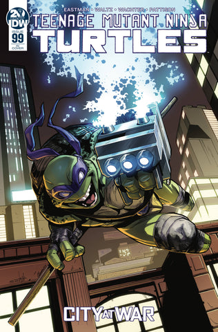 TMNT ONGOING #99 1:10 Valerio SCHITI Variant Teenage Mutant Ninja Turtles (Net) (10/30/2019) IDW