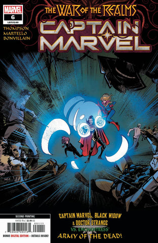 CAPTAIN MARVEL #6 2nd Print Annapaola Martello Variant (07/17/2019) MARVEL