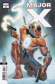MAJOR X #4 (OF 6) 2nd Print Brent Peebles Variant Rob Liefeld (07/24/2019) MARVEL