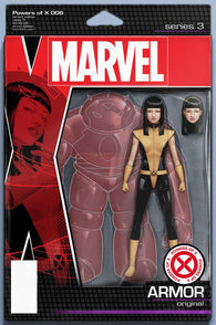 POWERS OF X #6 F (OF 6) John Tyler CHRISTOPHER ACTION FIGURE Variant (10/09/2019) Marvel