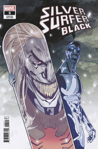 SILVER SURFER BLACK #5 (OF 5) 1:200 Cian Tormey Variant (10/16/2019) Marvel