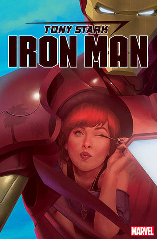 TONY STARK IRON MAN #17 B RAHZZAH MARY JANE Variant (10/23/2019) Marvel