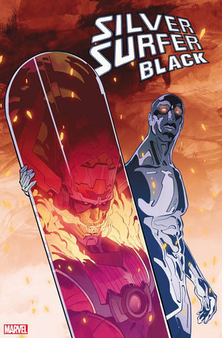SILVER SURFER BLACK #5 (OF 5) 1:500 Cian Tormey FORESHADOW Variant (10/16/2019) Marvel