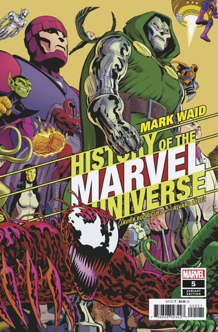 HISTORY OF MARVEL UNIVERSE #5 B (OF 6) Javier RODRIGUEZ Variant (11/13/2019) MARVEL