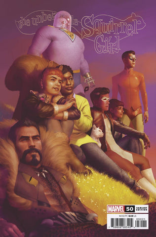 UNBEATABLE SQUIRREL GIRL #50 RAHZZAH Variant (11/13/2019) MARVEL