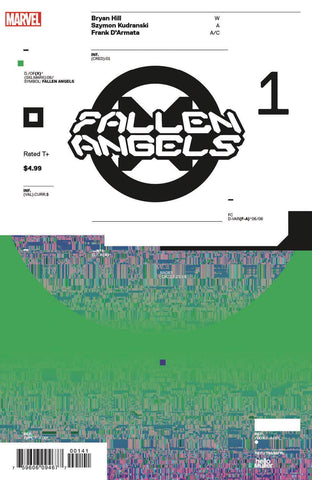 FALLEN ANGELS #1 1:10 Tom Muller DESIGN Variant DX (11/13/2019) MARVEL