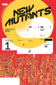 NEW MUTANTS #1 1:10 Tom Muller DESIGN Variant DX (11/06/2019) MARVEL