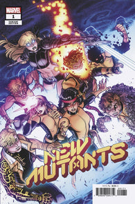 NEW MUTANTS #1 1:25 Nick BRADSHAW Variant DX (11/06/2019) MARVEL