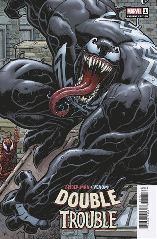 SPIDER-MAN & VENOM DOUBLE TROUBLE #1 C (OF 4) Arthur ADAMS 8-PART CON (11/06/2019) MARVEL