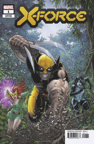 X-FORCE #1 1:25 Juan Jose RYP Variant DX (11/06/2019) MARVEL