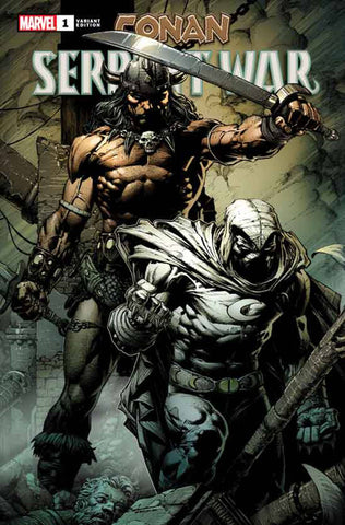 CONAN SERPENT WAR #1 (OF 4) 1:100 David FINCH Variant (12/04/2019) MARVEL