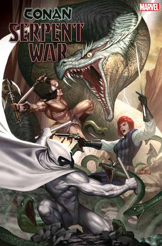 CONAN SERPENT WAR #1 (OF 4) 1:50 ARTIST Variant (12/04/2019) MARVEL